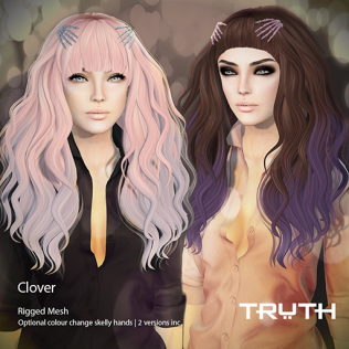 TRUTH HAIR Clover Ad