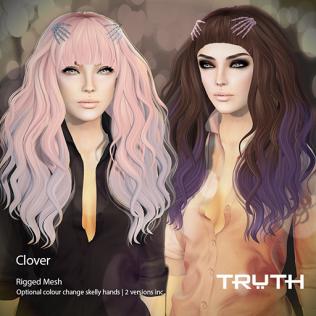 TRUTH HAIR Clover Ad